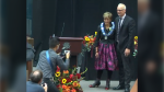 Jyoti Gondek was sworn in as Calgary's first female mayor on Oct. 25