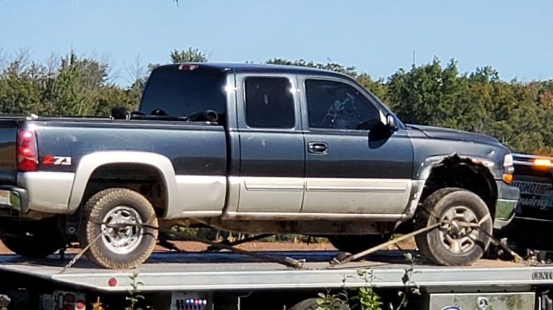 A truck seized following an investigation by OPP (Supplied: OPP)
