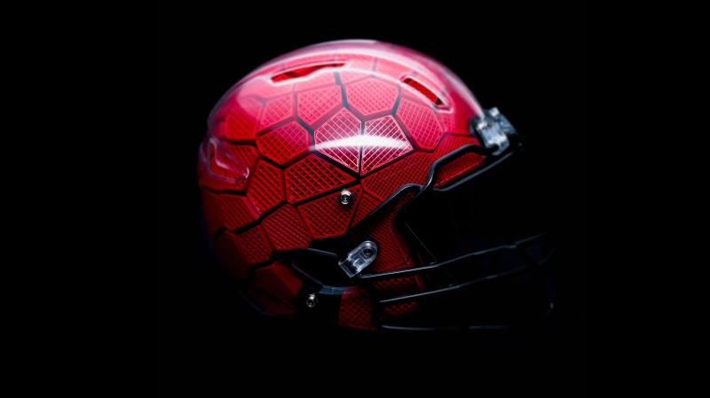 Montreal start-up KOLLIDE has won a $550,000 grant from the NFL to advance its design of a new helmet they hope will  help reduce the risk of concussions during games. (photo: KOLLIDE)