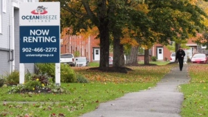 Tenants living in a rental community in Dartmouth, N.S. are worried that they may be forced out after learning the entire complex is up for sale.