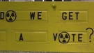 Call for referendum over nuclear waste storage