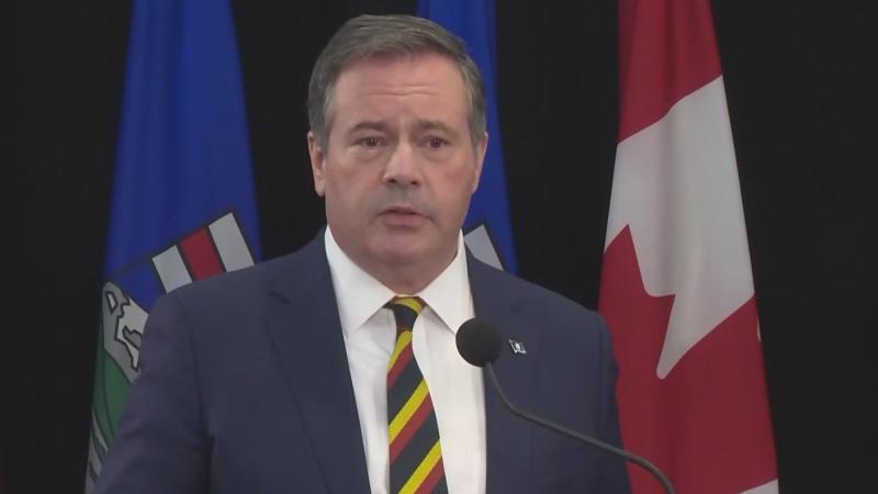 Premier Jason Kenney addresses Allan Inquiry