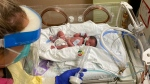 Skyler Katie Barbara Binette was delivered by C-section at Royal Columbian Hospital in New Westminster, B.C., on Oct. 23, 2021, while her mother remained in a medically induced coma with COVID-19.