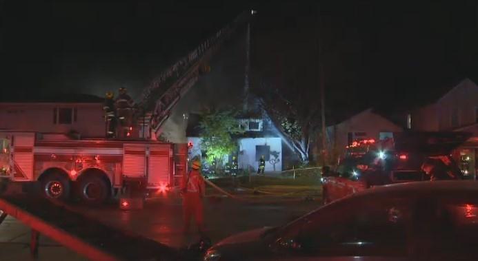 Vacant house on Nairn Ave. burns again
