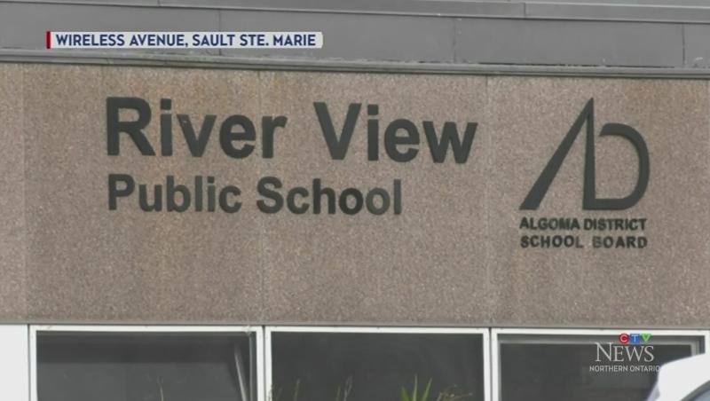 River View Public School in Sault Ste. Marie. Oct. 26/21 (Mike McDonald/CTV Northern Ontario)