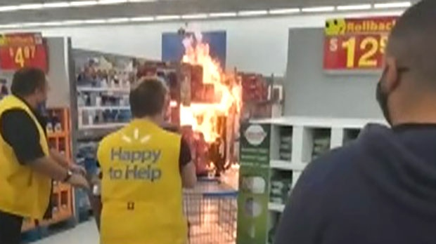 Ont. man pleads guilty in string of Walmart fires