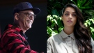 Comedy star Howie Mandel (left) and late-night talk-show host Lilly Singh (right) are seen in this combination photo. (THE CANADIAN PRESS)