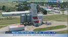 Grain elevators being torn down in Manitoba