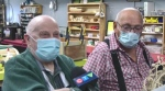 Science Timmins is dedicating its woodworking shop to two senior volunteers who have built exhibits and helped with repairs. Oct. 26/21 (Sergio Arangio/CTV Northern Ontario)