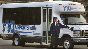 The YYJ Airport Shuttle operated by the Wilson's Group of Companies. (Wilson's Group)