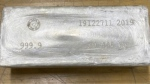 A bar of silver is pictured in this undated, handout photo. (Toronto police)