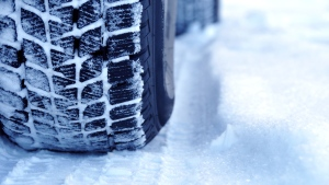 A car is seen in this snow in this undated image. (Shutterstock)