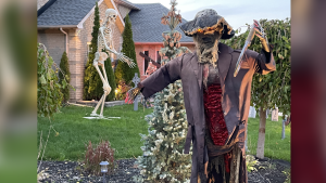 Previous submissions in the Halloween Spirit contest held by the Barrie Rotary Club (Image courtesy of the Barrie Rotary Club)