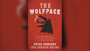 """The front cover of """"The Wolfpack"""" is seen in this promotional handout image (Penguin Random House Canada)"""