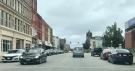 Downtown Woodstock, Ont. as seen on Tuesday, Oct. 26, 2021 (Sean Irvine / CTV News)