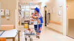 Molly Penny the therapeutic clown is marking 20 years at CHEO. (Katie Griffin/CTV News Ottawa)