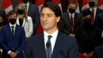 Trudeau speaks after new cabinet unveiled