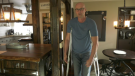 Robert Massey is looking at private options to have a hip surgery completed due to delays in southern Manitoba. (CTV News Photo Michelle Gerwing)