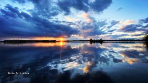 Moonlight bay. (Scot Moore/CTV Viewer)