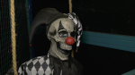 A clown from Dr. Foreboding's Warehouse of Horror in Brockville, Ont. (Nate Vandermeer/CTV News Ottawa)