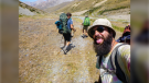Kevin Moore, former Chatham-Kent resident, has penned a best-selling novel about his 69-day hike across New Zealand's South Island. (Courtesy Kevin Moore)