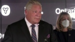 Ford hopes pandemic's end is soon