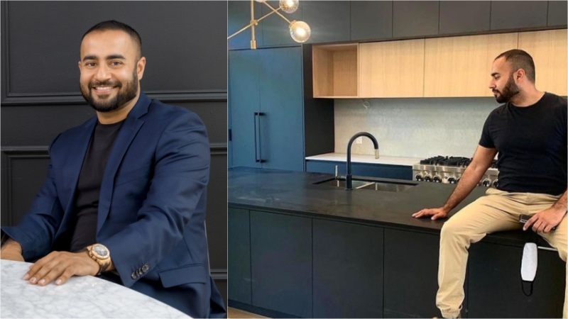 Sahil Jaggi owns 17 houses in Toronto but is speaking out about how he thinks the city can help fix affordability issues. (Supplied / Instagram)