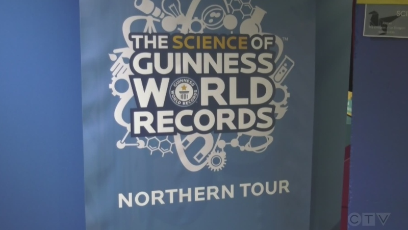 Travelling northern exhibit's world record attempt