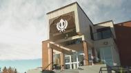 Racist graffiti outside Sikh Temple