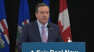 Alberta Premier Jason Kenney.