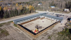 A northern Ontario First Nation has opened up a new safe house designed to help its residents heal from abusive and dangerous situations.
