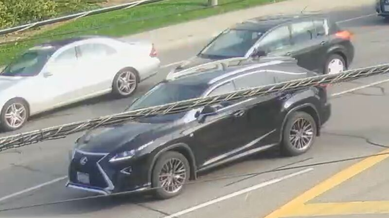 A photograph of a vehicle seen driving away from the scene of a fatal shooting in North York has been released by Toronto Police Service.