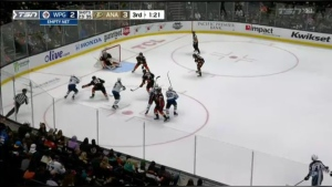 The Winnipeg Jets defeated the Anaheim Ducks 4-3 on Oct. 26, 2021.