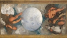 A stately villa in the heart of Rome, which houses the world's only ceiling mural by the Italian painter Caravaggio, will be auctioned at a starting price of US$547 million in January. (Mondadori Portfolio/Hulton Fine Art Collection/Getty Images/CNN)