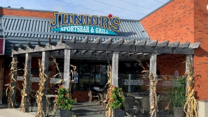 Junior's Sportsbar is shown in this file image (Jessica Smith / CTV Kitchener)