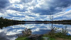 Fall Reflections on Calabogie Lake. (Nancy Metcalfe/CTV Viewer)