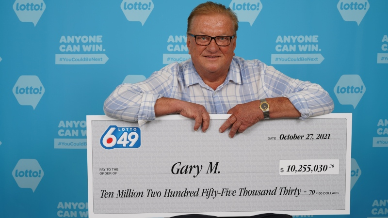 B.C. lottery winner Gary Muchula seen in a photo provided by BCLC.