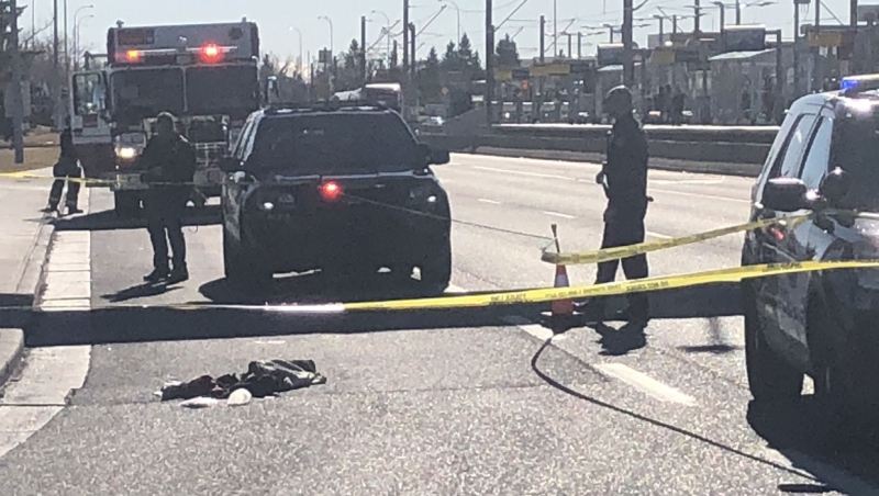 Police have arrested a suspect in a stabbing that occurred at the Marlborough LRT station on Wednesday.