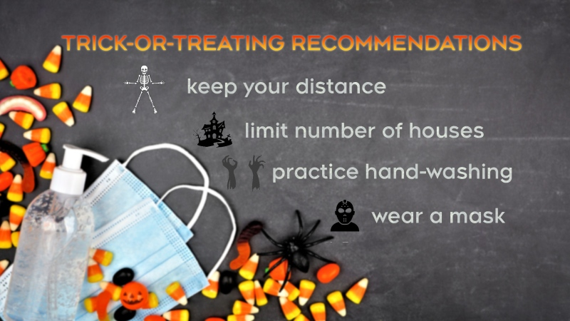 WECHU advice to safely trick-or-treat this year.