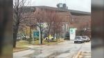 Winnipeg police remain on scene following a serious assault at Seven Oaks hospital on October 27, 2021. (Josh Crabb/CTV News Winnipeg)