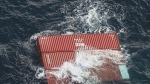 109 containers fell from B.C. cargo ship, not 40