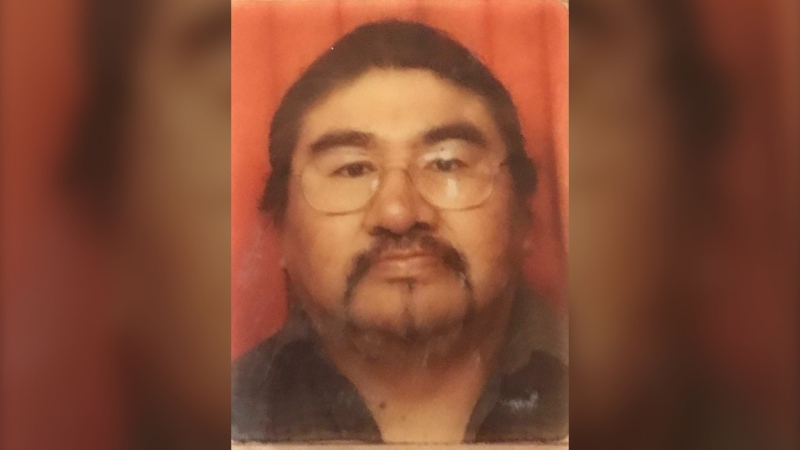 Winnipeg Police Service is asking for the public's help finding a missing man who they say lives with a cognitive impairment. (Photo supplied by Winnipeg Police Service)