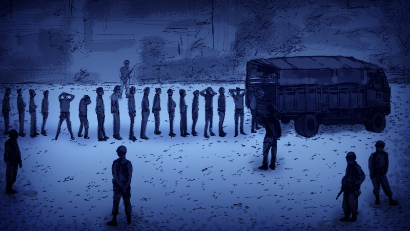 Since its takeover of the government in February, the Myanmar military has been torturing those it has detained in a methodical and systemic way across the country, The Associated Press has found in interviews with 28 people. (AP Illustration/Peter Hamlin)