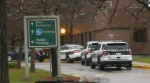 Serious assault on a member of hospital staff