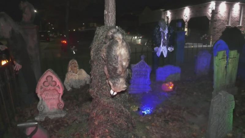 Dunnett's Dark Lair Halloween fundraiser