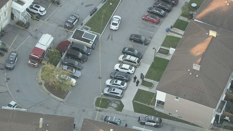A man is dead following an unknown trouble call in Scarborough early Thursday morning.