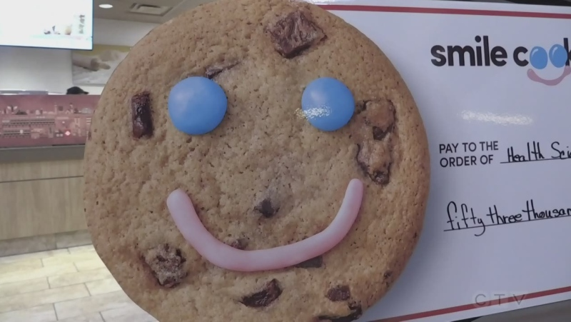 Smile cookie campaign raises thousands of dollars for local charities. Oct. 27/21 (Alana Everson/CTV Northern Ontario)