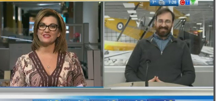 The Vickers Vedette at the Royal Aviation Museum brings the history of Western and Northern Canadian aviation. Rachel Lagacé has more.