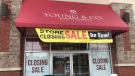 Young & Co. Fine Jewellery is closing after nearly 126 years in business. (Sean Irvine / CTV London)