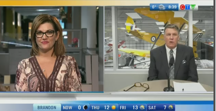 The 'Spend Bob's Money Challenge' will raise much needed funds for the Royal Aviation Museum of Western Canada. Rachel Lagacé has more.